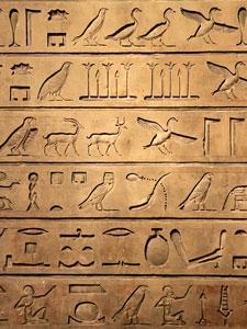 Egyptian hieroglypics
