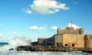 kayetbay castle - alexandria, egypt
