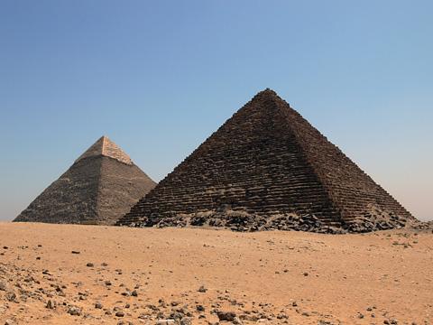 Egypt travel destinations egypt tourist information great pyramid and pyramid of khafre giza cairo egypt gumiabroncs Images