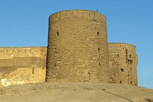 Saladin Citadel towers, Cairo